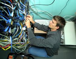 Интернет-провайдер.