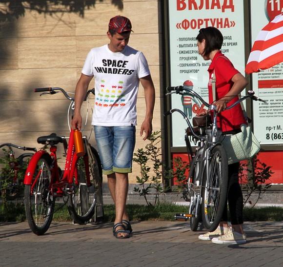 Велосипеды на прокат.