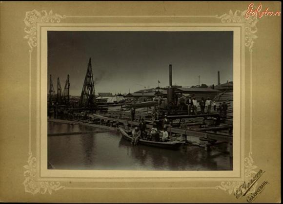 Так выглядела набережная Ростова в XIX — начале XX века.