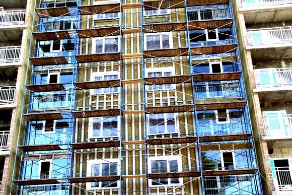 Фасад дома Военвед-Сити.