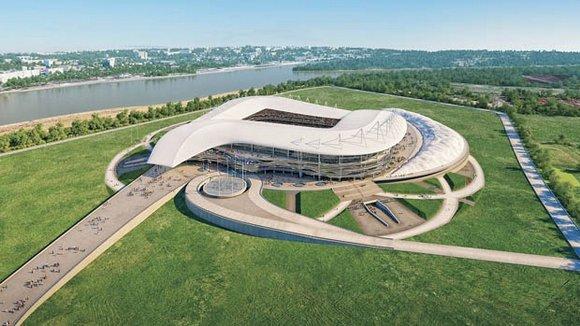 Стадион на Левом берегу Дона