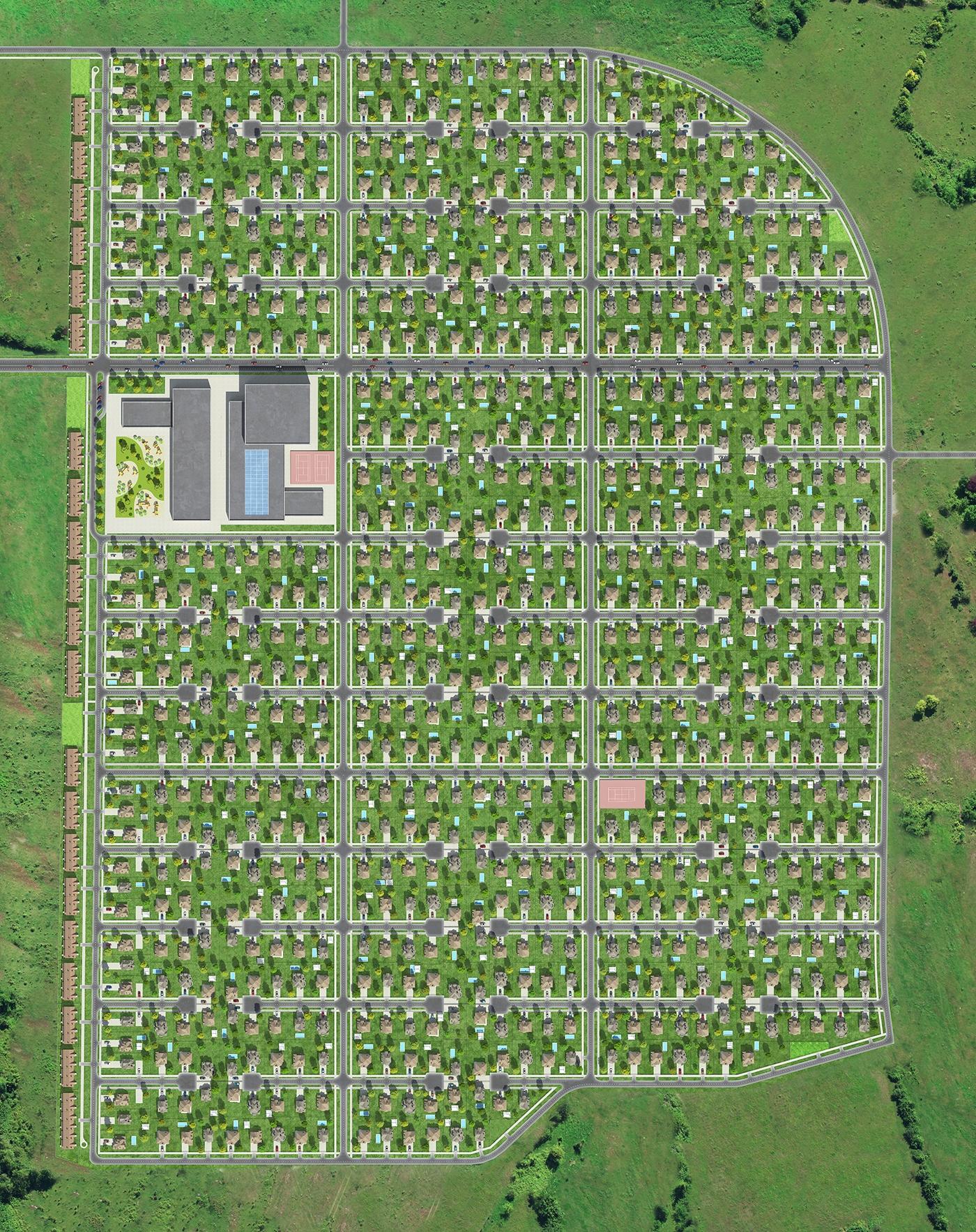 Генплан поселка. Увеличить.