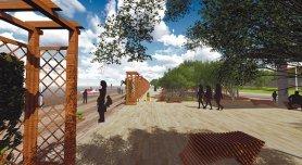 Проект парка на Мертвом Донце.