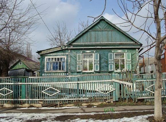 Казачий домик в Гниловской.