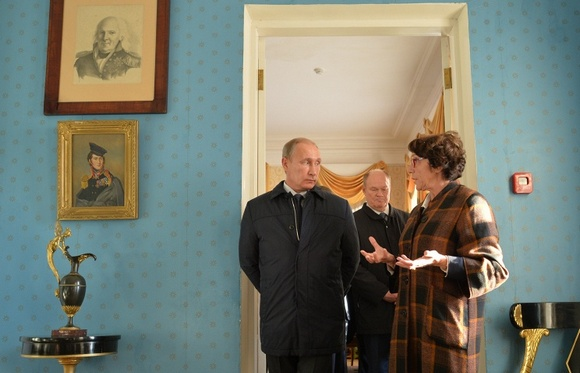 Путин в Тарханах