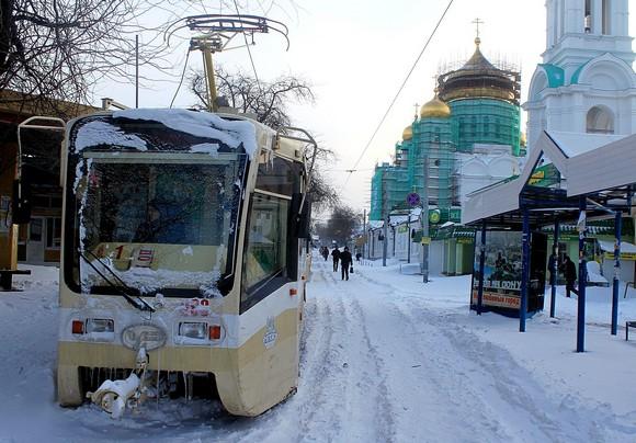 Зима, снег, катастрофа!