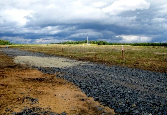 Совхоз «Нива»: в таком состоянии переданы земельные участки многодетным семьям.