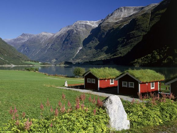 Дома в Норвегии: стиль, качество и самобытность.