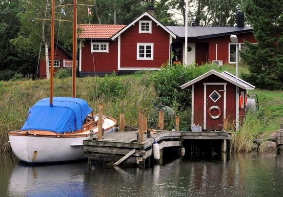 Шведская красная дача.