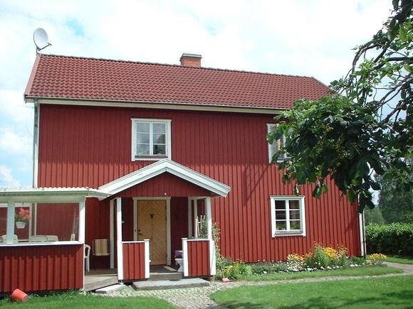 Шведский красный дом.