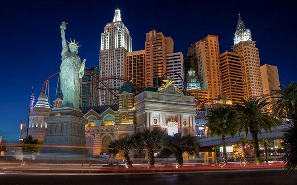 Лас-Вегас - эталонный город греха.