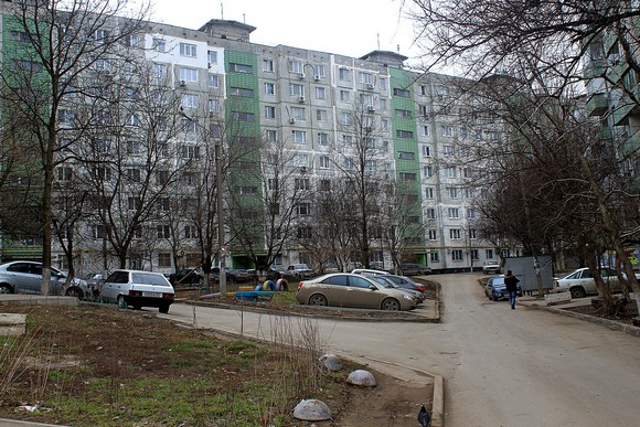 Дом на Немировича-Данченко.
