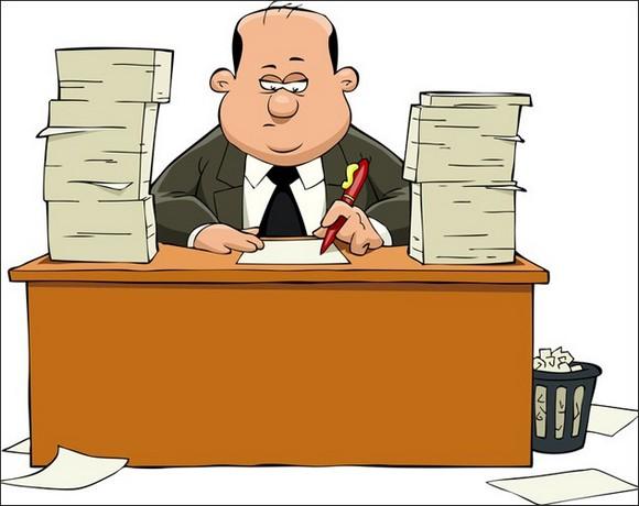 Бюрократ крупным планом