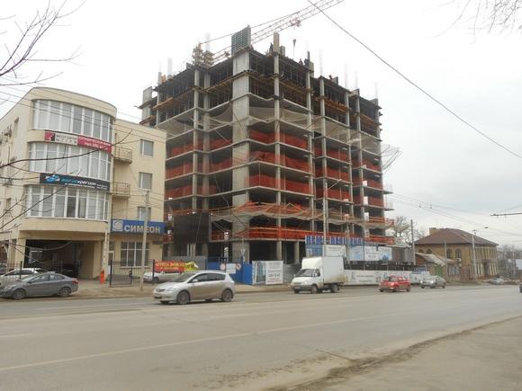 Ход строительства в 2016 году.