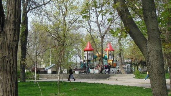 Комсомольский парк.