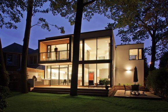 Дома из модулей могут воплощать любую архитектурную идею.