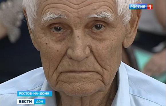 Ветеран ВОВ Дмитрий Федорович Белов.