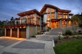 Типичный канадский дом.