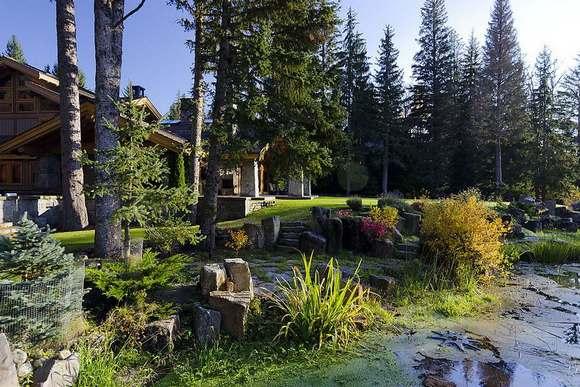 Опушка леса и озеро входят в комплект.