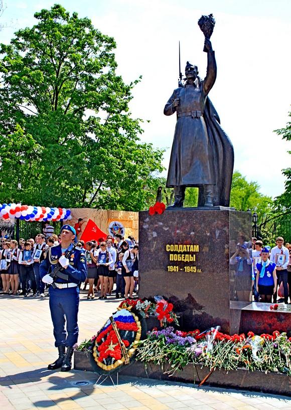 Памятник воину-освободителю в Ростове-на-Дону.