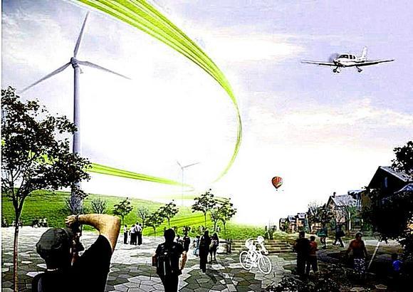 Таким видят будущее Красного Колоса оптимистичные художники и дизайнеры.