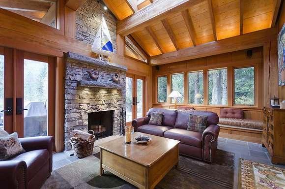 Внутри канадского дома всегда уютно.