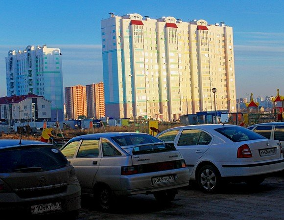 Парковки в Ростове.
