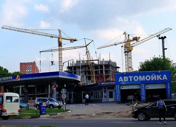 Строительство в Ростове-на-Дону.