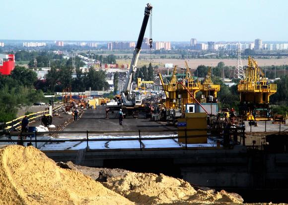 Ворошиловский мост: вид на Задонье.