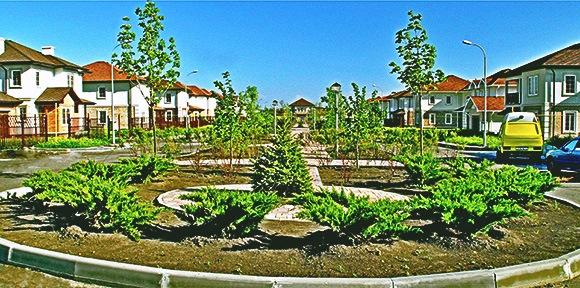 Бульвар Льва Толстого: в таком едином архитектурном стиле будет построен весь коттеджный поселок.