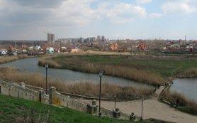 Река Темерник в Ростове-на-Дону.