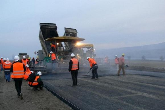 Строительство дорог в Ростовской области.
