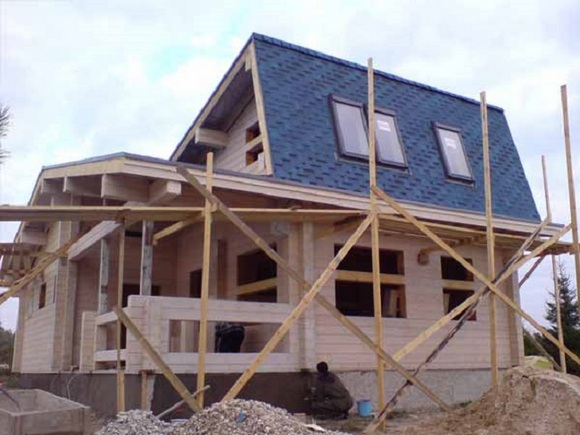 Строительство частных домов в Ростове.