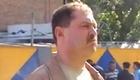 Валерий Будаев на месте ДТП.