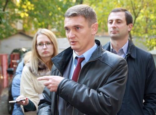 Валерий Былков на смотре капремонта.
