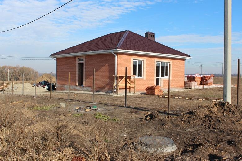 Строительство домов в КП Семейный.