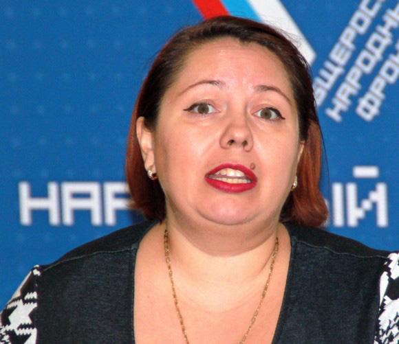Людмила Зыкова.