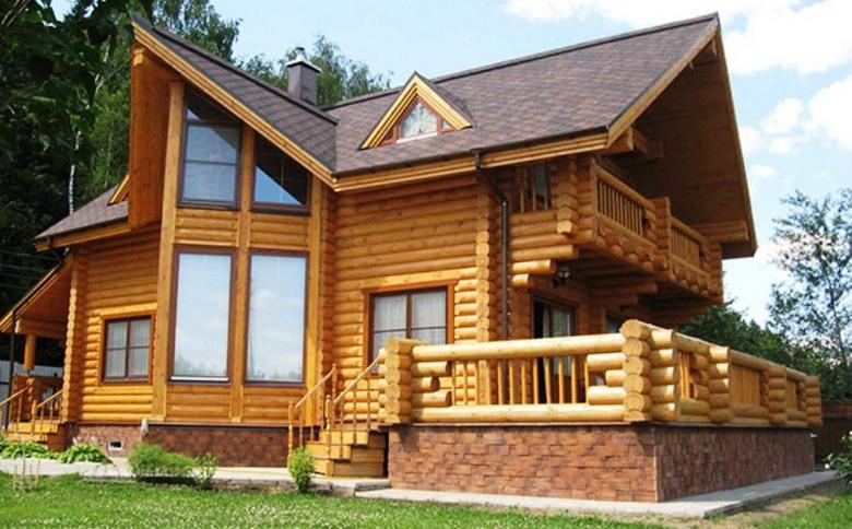 фото цвета деревянных домов