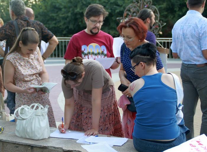 Ростовчане встали на  защиту зеленых друзей.