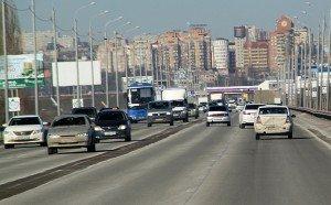 Южный подъезд к Ростову.
