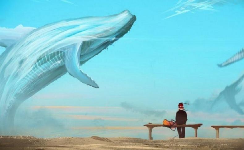Синий кит - смертельно опасная интернет-игра
