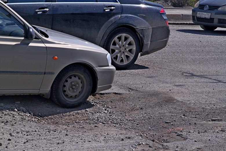 Хотя все дорожные провалы явно не форсируешь.