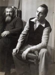 Александр Жданов и Леонид Стуканов.
