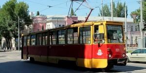 Ростовский трамвай.
